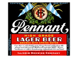 Pennant Lager Beer Print