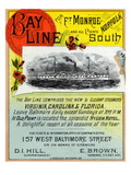 Bay Line Poster