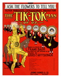 The Tik-Tok Man of Oz Prints