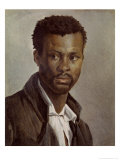 Portrait of a Negro Giclee Print by Jean-louis-andre-theodore Gericault