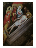 Entombment of Christ Giclee Print by Master Of Wittingauer Altar