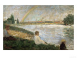 The Rainbow Poster by Georges Seurat