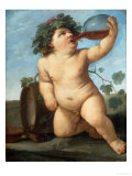 Bacchus As a Boy Reproduction procédé giclée par Guido Reni