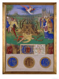 Martyrdom of Saint Catherine of Alexandria Posters by Jean Fouquet
