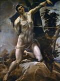 Saint Sebastian Print by  El Greco