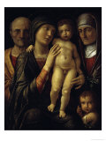 The Holy Family Print by Andrea Mantegna
