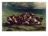The Shipwreck of Don Juan Giclee Print by Eugene Delacroix