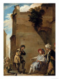 The Parable of the Workers in the Vineyard Giclee Print by Domenico Feti