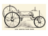 Lett's Improved Wagon Brake Posters