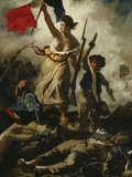 Liberty Leading the People Poster by Eugene Delacroix