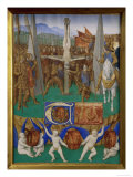 Crucifixion of St. Peter Poster by Jean Fouquet