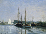 Pleasure Boats Near Argenteuil Giclee Print by Claude Monet