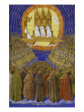 The Holy Trinity Poster by Jean Fouquet
