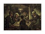 Les mangeurs de pommes de terre Impression giclée par Vincent van Gogh