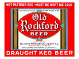 Old Rockford Beer Posters