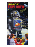 Battery Operated Space Explorer Print