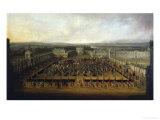 Carnival in Dresden Giclee Print by Johann Alexander Thiele