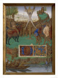 Martyrdom of St. Andrew Posters by Jean Fouquet