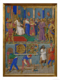 Christ and Pilate Posters by Jean Fouquet