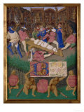 Martyrdom of St.Apollonia Posters by Jean Fouquet