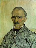 Portrait of Trabuc, the Head Warden at the Hospital Saint-Paul Posters by Vincent van Gogh