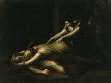 Kriemhild Throws Herself on Siegfried's Corpse Posters by Henry Fuseli