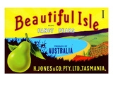 Beautiful Isle Brand Fancy Pears Prints