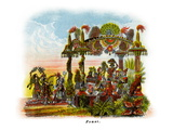 Feast - Mardi Gras Parade Float Design Posters
