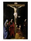 Crucifixion Giclee Print by Nicolas Tournier