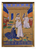 Coronation of Mary Poster by Jean Fouquet