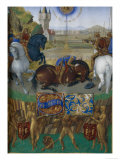 St. Paul on the Way To Damascus Poster by Jean Fouquet