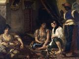 The Women of Algiers Prints by Eugene Delacroix