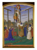 Deposition From the Cross Poster by Jean Fouquet