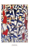 Contraste de Formes Poster af Fernand Leger