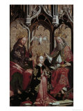 Coronation of the Virgin Mary Gicl&#233;e-Druck von Michael Pacher