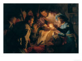 The Dentist Giclee Print by Gerrit van Honthorst