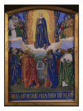 Ascension of Mary Posters by Jean Fouquet