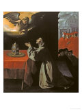 St. Bonaventura Giclee Print by Francisco de Zurbarán