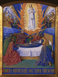 Death of Mary Giclee Print by Jean Fouquet