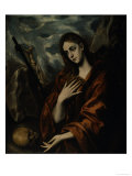 Mary Magdalene Repentant Posters by  El Greco