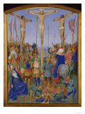 Crucifixion Posters by Jean Fouquet