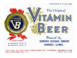 Vitamin Beer Poster