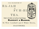 Ra-Jah and Fuh-hi Tea Poster