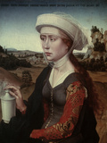 Saint Mary Magdalene Poster by Rogier van der Weyden