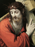Christ Carrying the Cross Giclee Print by Andrea Solario