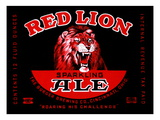 Red Lion Ale Posters