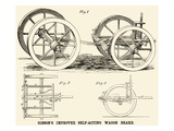 Gibson's Improved Self-Acting Wagon Brake Lminas