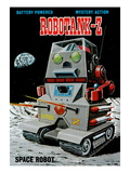 Robotank-Z Space Robot Posters