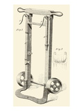 Hamper Hand truck for Moving Fabric Prints
