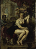 Bathseba at the Well Posters by Peter Paul Rubens